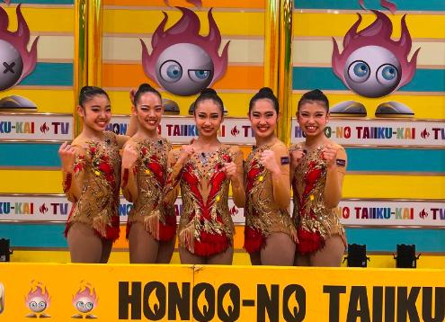 【炎の体育会TV】武庫川女子大の新体操部メンバーがかわいい!名前は?